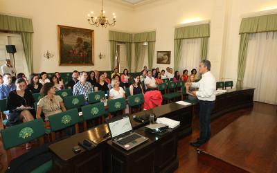 """Formação sobre """"O Sistema de Normalização Contabilística para a Administração Pública (SNC – AP)"""" reúne cerca de 40 participantes"""