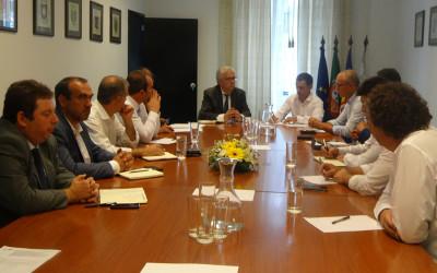 Eduardo Cabrita, Ministro Adjunto, reuniu com a AMRAM
