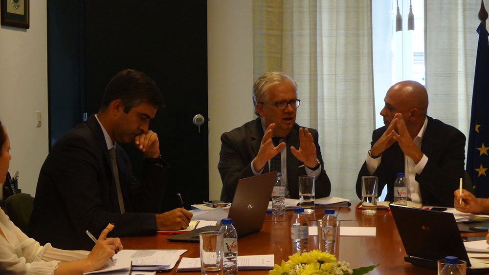 Autarcas da Madeira reúnem com Ministro Adjunto