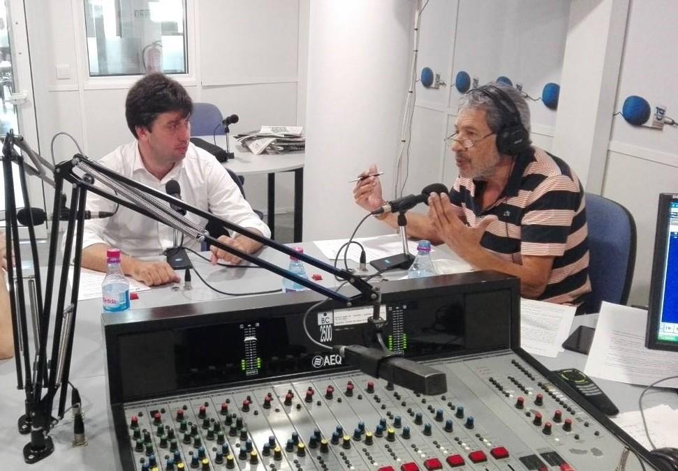 "José António Garcês, no Programa ""Estrada Monumental"""