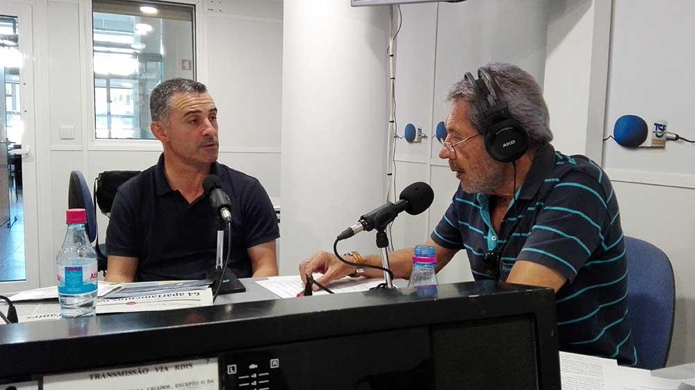 """Ricardo Franco em entrevista no Programa """"Estrada Monumental"""""""