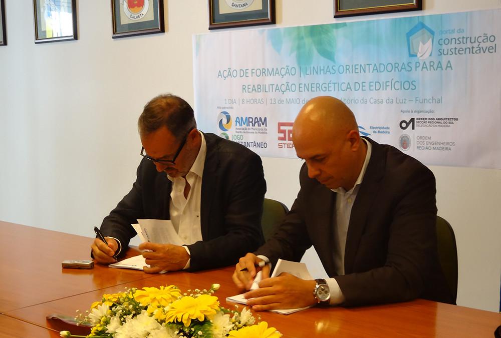 AMRAM e Ordem dos Arquitetos – Delegação da Madeira celebram Protocolo