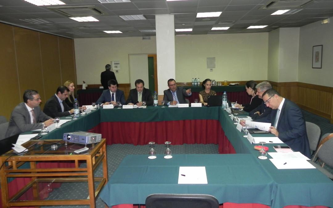 Presidente do Município de São Vicente presente nas reuniões da CMU, em representação da AMRAM