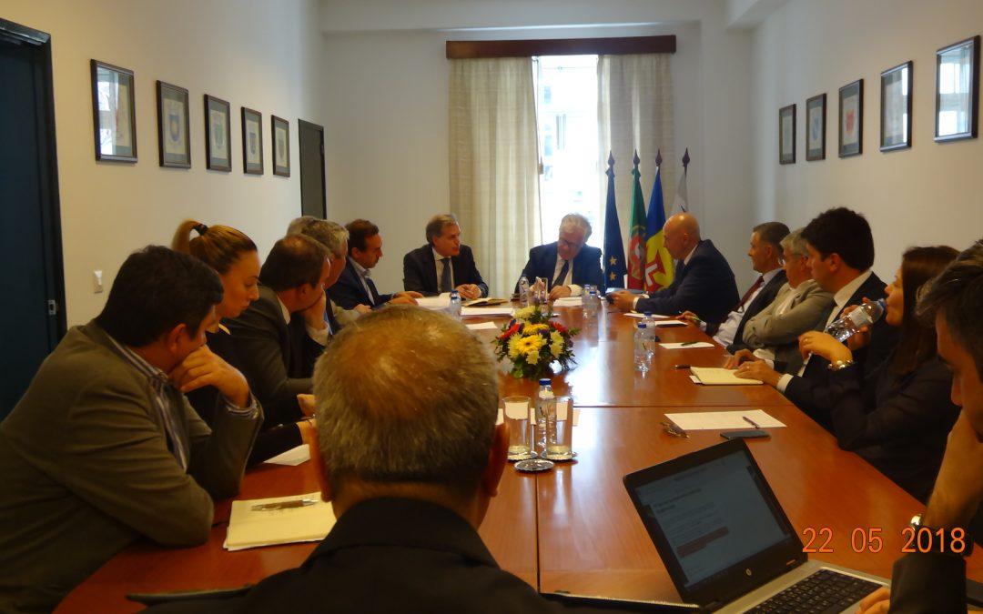 Ministro da Administração Interna, Eduardo Cabrita, reune com Autarcas da Madeira