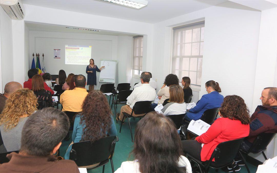 SNC–AP – SISTEMA DE NORMALIZAÇÃO CONTABILÍSTICA PARA A ADMINISTRAÇÃO PÚBLICA, foi o tema em análise na ação de formação promovida pela AMRAM