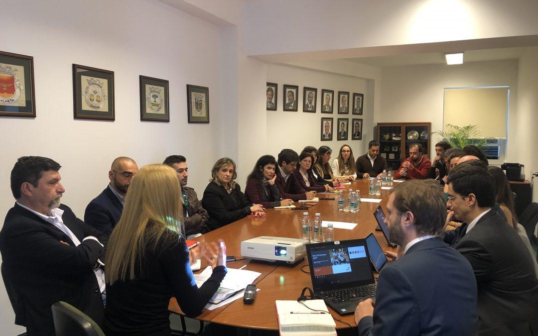 NOVO REGULAMENTO GERAL DE PROTEÇÃO DE DADOS PESSOAIS – Reunião de trabalho com os Municípios no âmbito da implementação RGPD