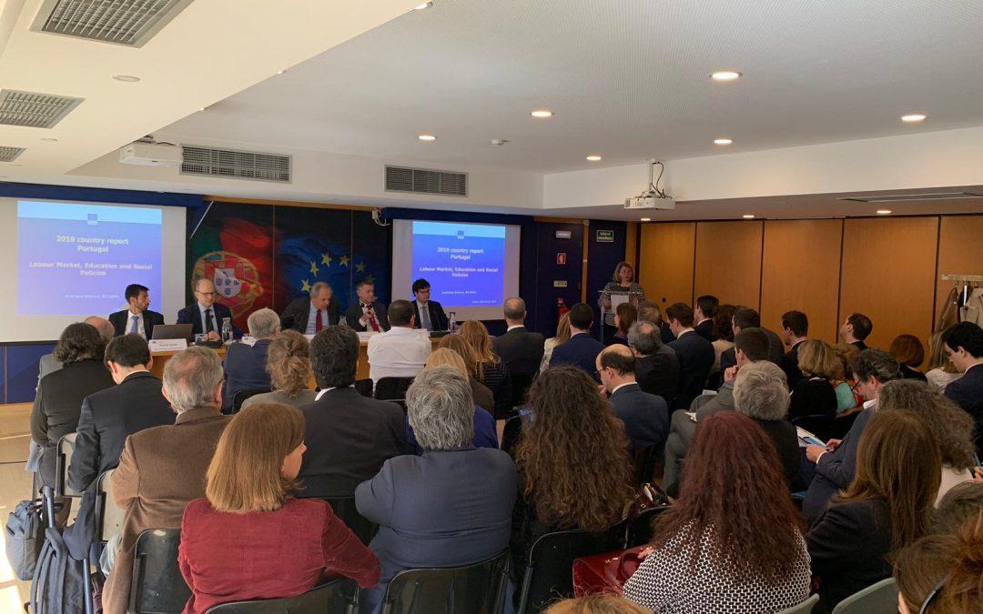 """AMRAM, representada pelo Presidente Pedro Coelho, participa na """"Apresentação do Relatório relativo a Portugal de 2019"""" e na sessão sobre """"Orientações para os domínios prioritários de investimento da política de coesão em Portugal no período 2021-2027"""""""
