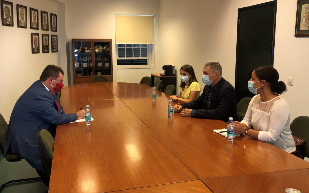 O presidente da AMRAM, Ricardo Nascimento, reuniu hoje, dia 7 de outubro, com o PCP