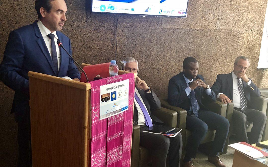 Pedro Coelho representa a AMRAM na abertura das Jornadas Autárquicas que decorrem em Cabo Verde