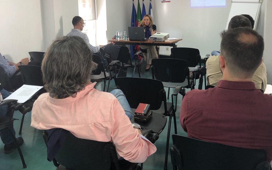 A AMRAM acolheu ontem a ação formativa promovida pela ANMP em coorganização com a Autoridade Tributária e Aduaneira, no âmbito do trabalho de revisão trienal do zonamento