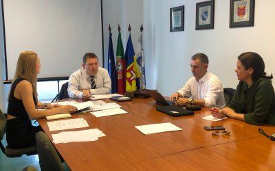 Ricardo Nascimento, preside à primeira reunião do Conselho Executivo da AMRAM, após a designação da Assembleia Intermunicipal de 25/10/2019