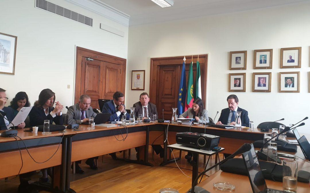 AMRAM reuniu com a Comissão de Administração Pública, Modernização Administrativa, Descentralização e Poder Local
