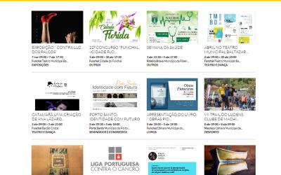 AGENDA MADEIRA: Fique a conhecer os eventos culturais, de lazer e desportivos, organizados pelos Municípios da Região Autónoma da Madeira em http://www.agendamadeira.pt/
