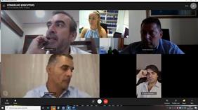 Conselho Executivo da AMRAM reuniu esta manhã com recurso a videoconferência