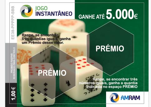 Jogo Instantâneo premeia Apostador com € 5.000