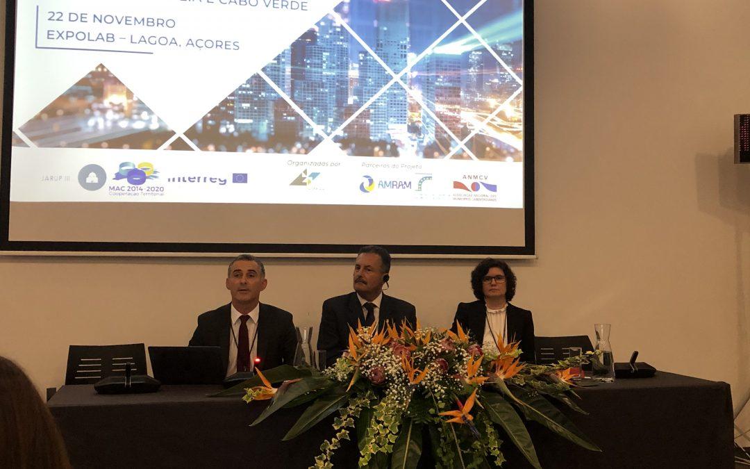 Ricardo Franco, participa nas XVI Jornadas Autárquicas das Regiões Ultraperiféricas da União Europeia e Cabo Verde