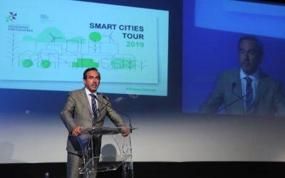 """Pedro Coelho, representa a AMRAM na abertura do workshop """"Happy Island"""" – Smart Cities Tour 2019"""