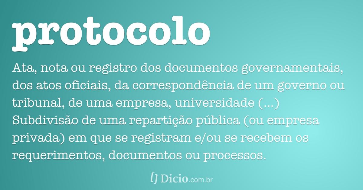 21 - GESTÃO DO PROTOCOLO