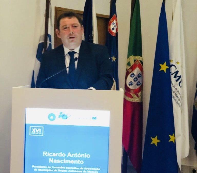 Importa olhar o presente e perspetivar o futuro! Ricardo Nascimento na sessão de abertura das XVI Jornadas Autárquicas que decorrem nos Açores