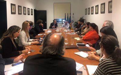 Autarcas da Madeira reunidos com a Associação Nacional de Municípios Portugueses